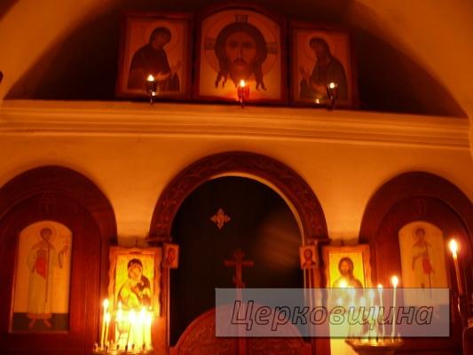 Церковщина. Храм в честь преподобного Феодосия Печерского