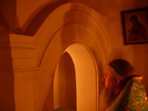 Пестол с киворием пещерного храма XIVв. Церковщина