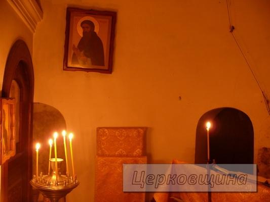 Церковщина. Храм в честь преподобного отца нашего Феодосия Печерского