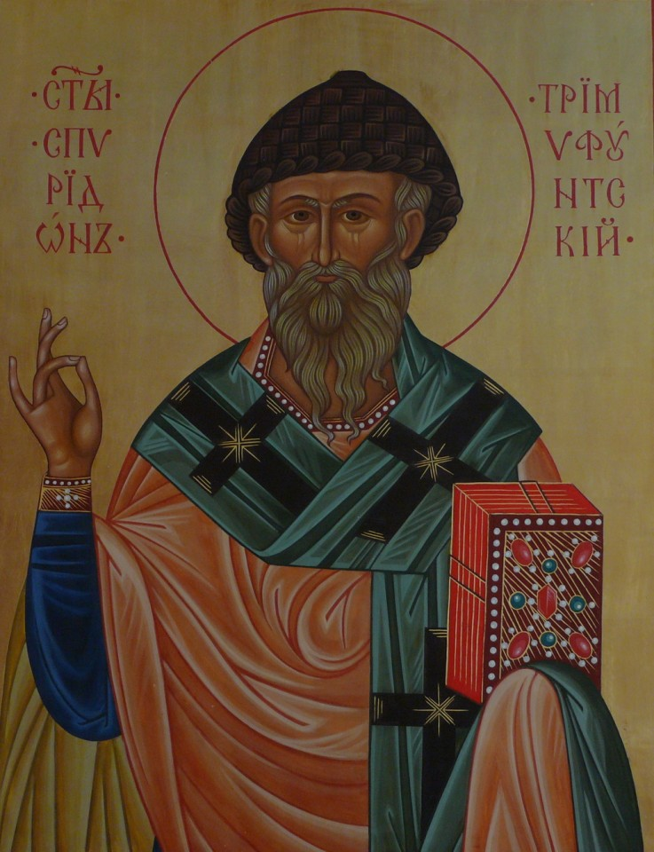 Преподобный Спиридон Тримифунтский