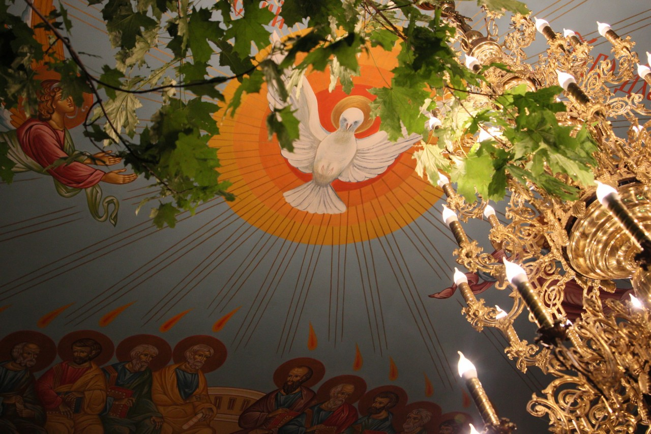 Фоторепортаж с праздника Святой Троицы
