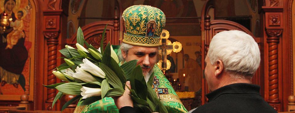 Новогоднее Богослужение 1 января 2015 года. День рождения настоятеля обители