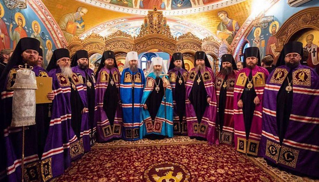 Архиерейская литургия в Никольском храме в день памяти святителя Николая чудотворца/ 19.12.2018
