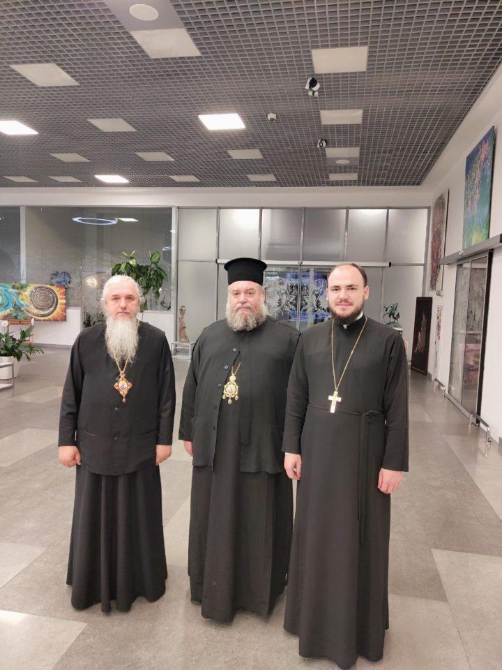 Зустріч митрополита Карфагенського Мелетія в аеропорту