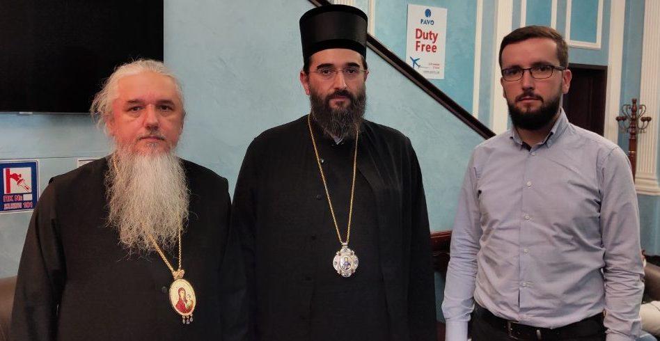 Зустріч представника Сербської церкви