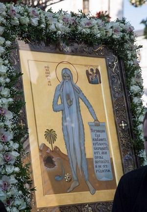 Празднования деня памяти Онуфрия Великого 25.06.2020