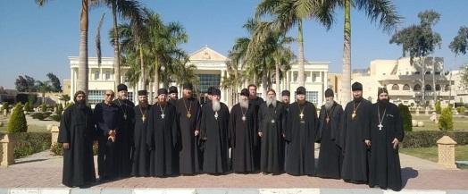 Єпископ Гостомельський Тихон з делегацією відвідав в Єгипті монастирі Нітрійської пустині