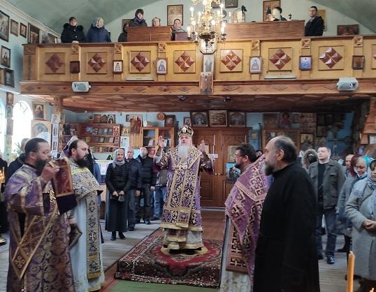 Єпископ Гостомельський Тихон керуючий Ірпінським вікаріатством, звершив богослужіння в місті Гостомель