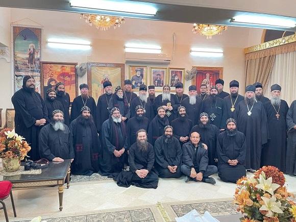 Єпископ Гостомельський Тихон з делегацією відвідав в Єгипті монастирі преподобних Павла Фівейского і Антонія Великого
