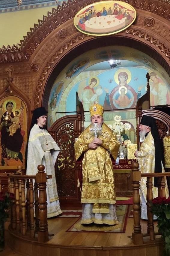 Праздничное Богослужение в день памяти святителя и чудотворца Николая Мирликийского