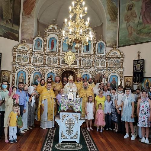 Єпископ Гостомельський Тихон звершив богослужіння в храмі у селі Бобриця