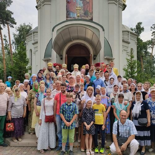 Єпископ Гостомельський Тихон звершив богослужіння престольного свята храму у місті Буча