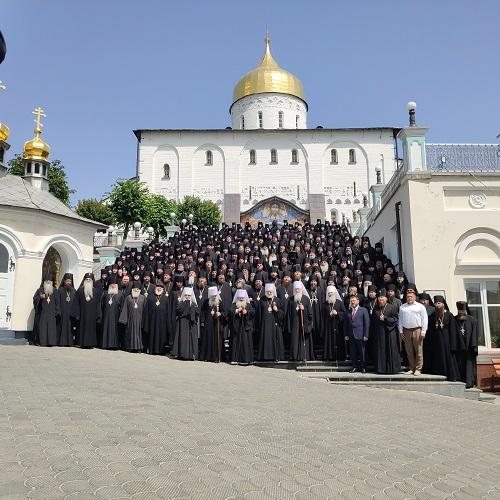 Єпископ Гостомельський Тихон взяв учясть у з'їзді чернецтва Української Православної Церкви в Почаївській Лаврі
