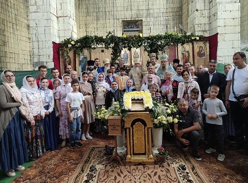 Єпископ Гостомельський Тихон звершив богослужіння престольного свята храму у с. Горбовичи