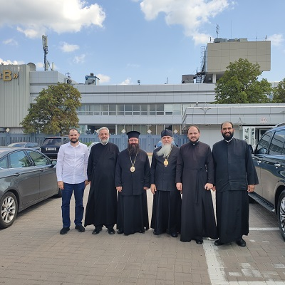 Делегация Антиохийской Православной Церкви