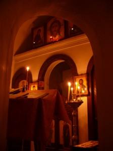 Пещерный Храм в Церковщине.