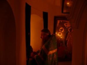 Жертвенник пещерного храма XIVв. Церковщина