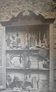 Находки в пещерах Церковщины XI-XVвв.