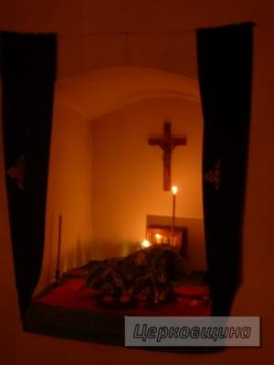 Церковщина. Пещерный храм в честь преподобного отца нашего Феодосия Печерского