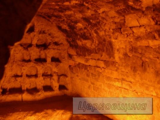 Церковщина. Древние пещеры