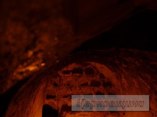 Церковщина. Пещеры на месте подвигов Феодосия Печерского
