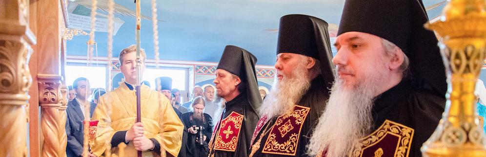 Наречение архимандрита Тихона (Софийчука) во епископа Гостомельского 12 ноября 2016 года