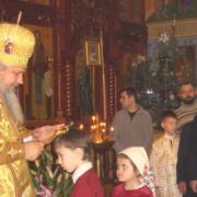 Божественная литургия и выступление детей 15.01.2017 г.