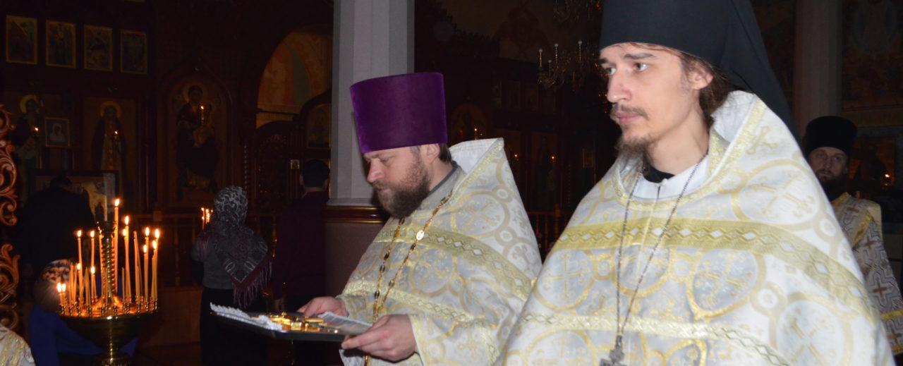 Божественная литургия 26.11.2017