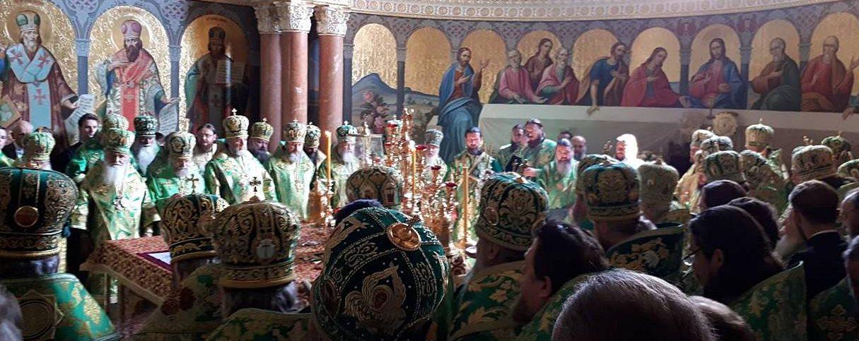 Праздничная литургия в день тезоименитства Блаженнейшего Митрополита Киевского и всея Украины Онуфрия 25.06.2018