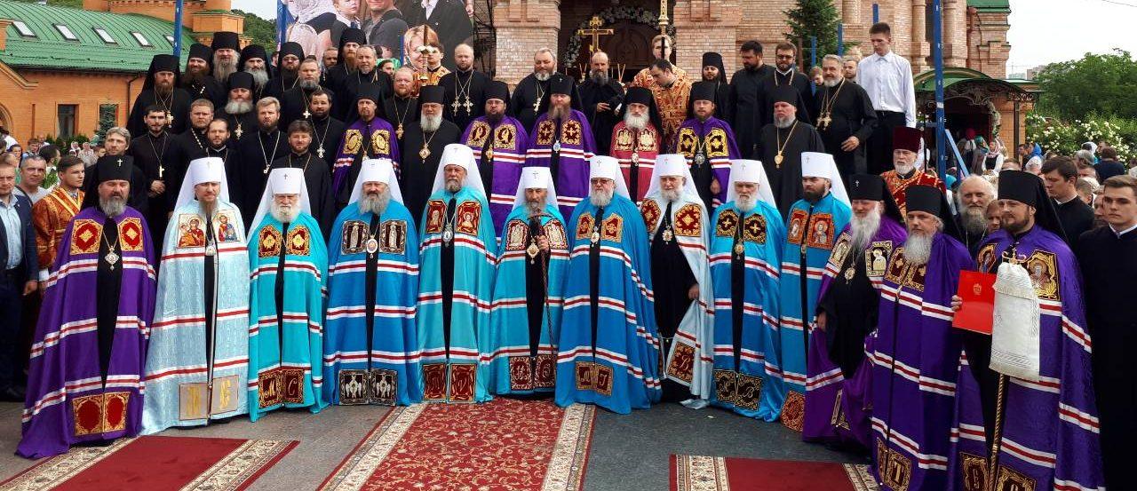 Литургия по случаю 25-летия возрождения монастыря «Свято-Покровская Голосеевская пустынь»
